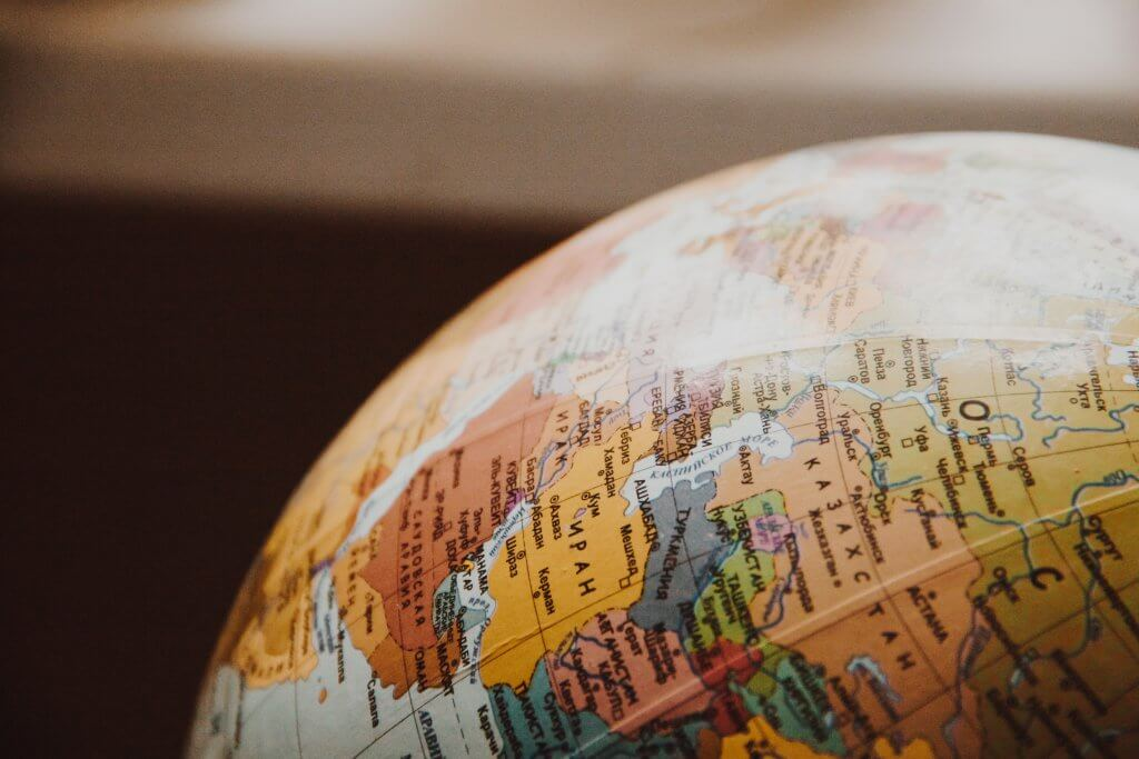 Maailma reisiturvalisuse ülevaate kaart